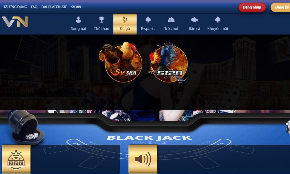 Đặt cược trò chơi trực tuyến tại nhà cái cá cược VN138