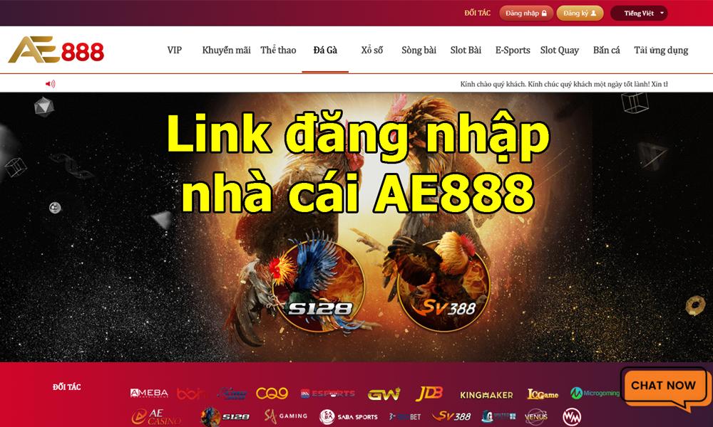 Link vào trang chủ AE888 không bị chặn mới nhất